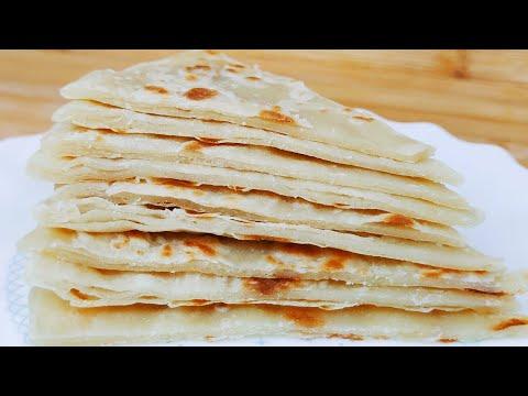 老北京家常餅,雖然簡單但是足夠完爆你的味蕾【小美食軒】Old Beijing pancakes are simple but enough to break your taste buds