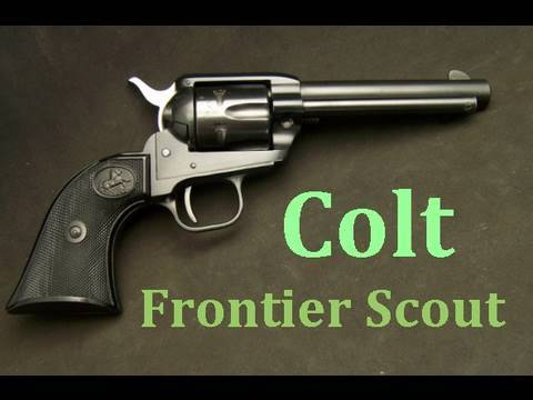 colt single action frontier scout 22lr revolver gun review youtube rh youtube com Colt Frontier Scout 22 Parts colt frontier scout owners manual