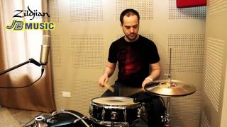 Zildjian Advance Lesson: Double Stroke Roll by Harald Huyssen (Gloryfall Band)