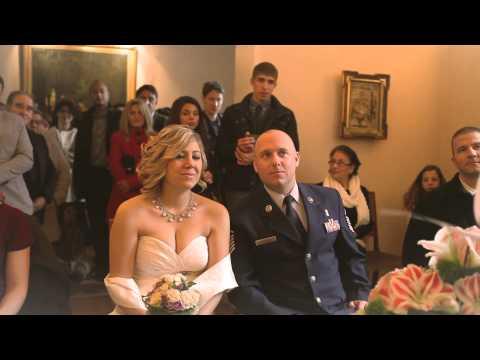 Belma & Robert - The wedding (France at Haguenau) French American 23 november 2013
