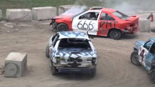 Woodstock Fair Demolition Derby | Figure 8 Races #1 & 2