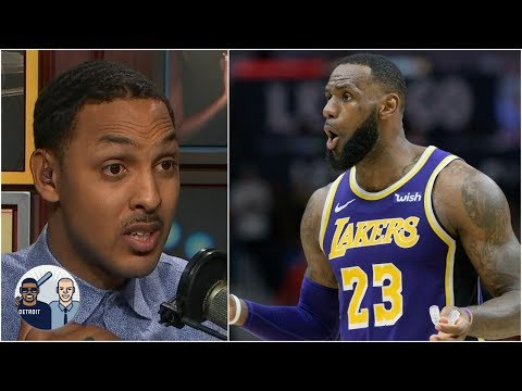 Lazy defense is in LeBron James' DNA - Ryan Hollins | Jalen & Jacoby