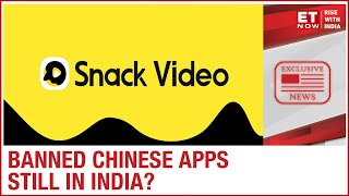 Is Snack Video actually the banned Chinese app Kwai? | EXCLUSIVE