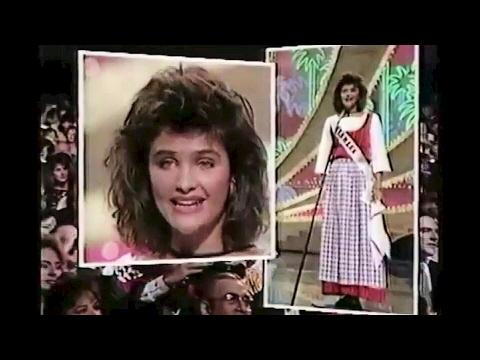 Helena Christensen  Miss Universe 1986 Contestant