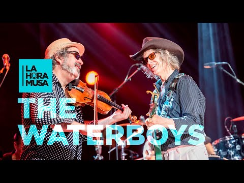 "THE WATERBOYS ""The Whole Of The Moon""   La Hora Musa, 2019   La 2"