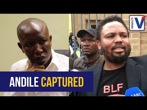 Mngxitama was swimming in a pool of debt, that's how he was captured - Malema