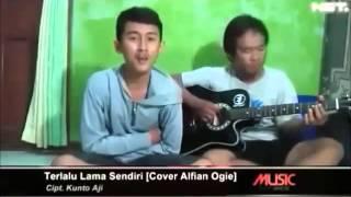 Terlalu Lama Sendiri [Cover by Alfian Ogie] Mp3