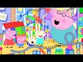 Peppa Pig Official Channel   Peppa Pig's Biggest Marble Run Challenge at Home