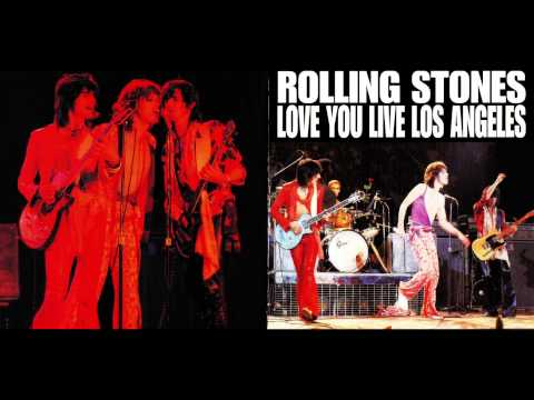 ROLLING STONES- HOT STUFF-LOVE YOU LIVE