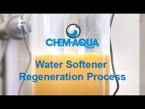 Water Softener Regeneration Process