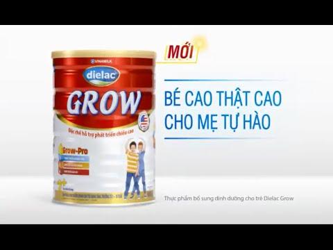 Quảng cáo Vinamilk – Sữa bột Dielac Grow