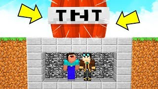 BUNKER INDISTRUTTIBILE contro TNT INARRESTABILE su MINECRAFT!
