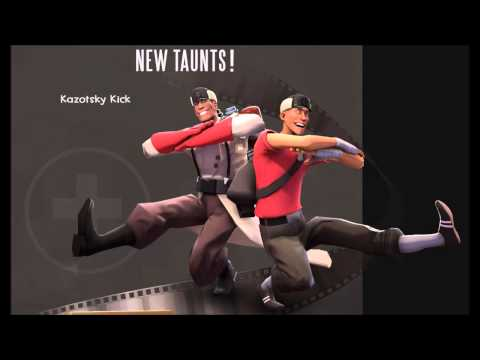 Team Fortress 2 music - Soldier of Dance (Kazotsky Kick)