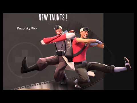 Team Fortress 2 music - Soldier of Dance (Kazotsky Kick)
