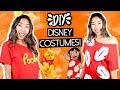 LAST MINUTE DIY DISNEY HALLOWEEN COSTUMES UNDER $5! (Pooh Bear, Dalmation, and Lilo!)| Emily Dao