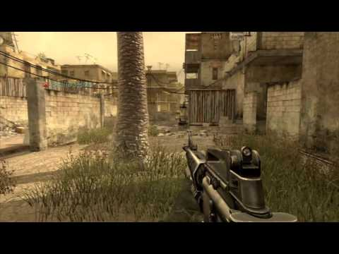 Call of Duty 4 PS3 Insane Mods in action - Jet-on-demand, Transformer !!!