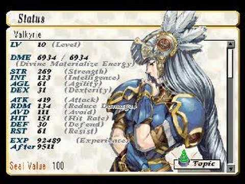 Let's Play Valkyrie Profile #34 - Seal Value and A Ending