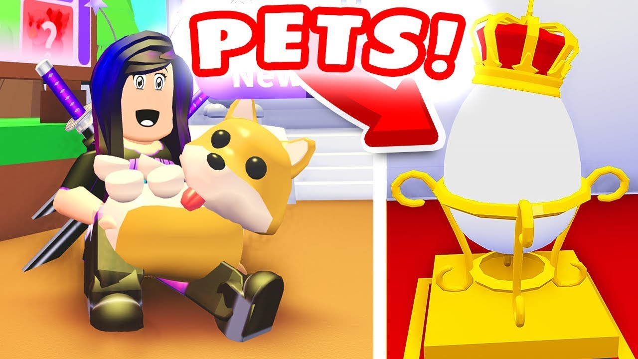 THESE ARE THE COOLEST PETS IN ROBLOX! 😍 (Roblox Adopt Me ...