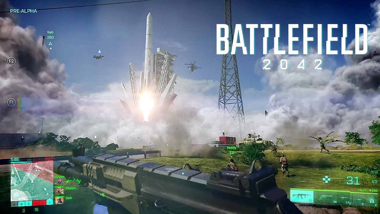 배틀필드 2042 게임플레이 공개! - 무기 부착물, 레볼루션, 화성 갈끄니까