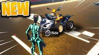 FINALLY.. New QUADCRASHER ATV in Fortnite!