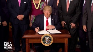 WATCH LIVE: President Trump signs Antiquities Act executive order