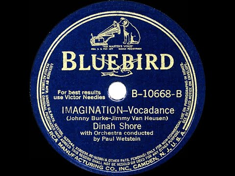 dinah shore imagination