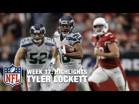 Tyler Lockett Sprints Past the Cardinals All Day! | Seahawks vs. Cardinals | NFL Week 17 Highlights