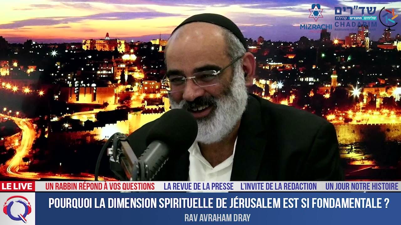 Pourquoi la dimension spirituelle de Jérusalem est si fondamentale ? - URVR#23