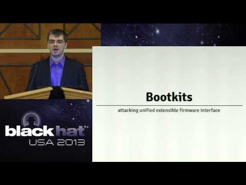 Black Hat USA 2013 - Press ROOT to continue: Detecting OSX and Windows bootkits with RDFU