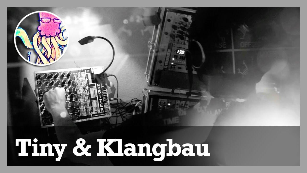 tinysizer klangbau k ln modular synthesizer jam ttnm youtube. Black Bedroom Furniture Sets. Home Design Ideas