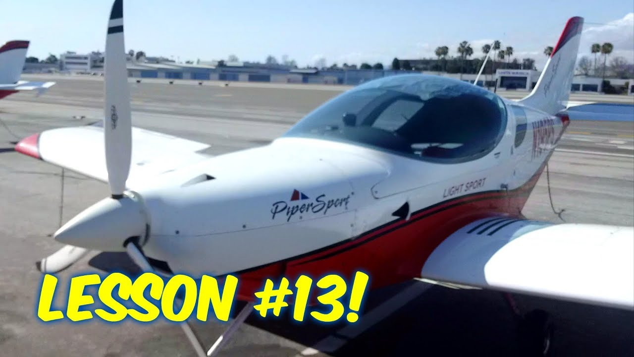Private Pilotu0027s License  Lesson #13  GASSING UP THE SPORT CRUISER!