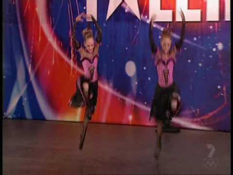 Australia's got Talent 2008 - Flying Twins