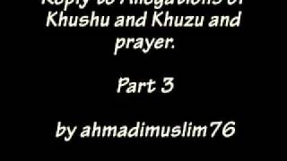 Khushu and Khuzu and Prayer (part 3)