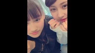 20170312 LINELIVE 原宿駅前パーティーズ 1(石井美優、兼次桜菜)
