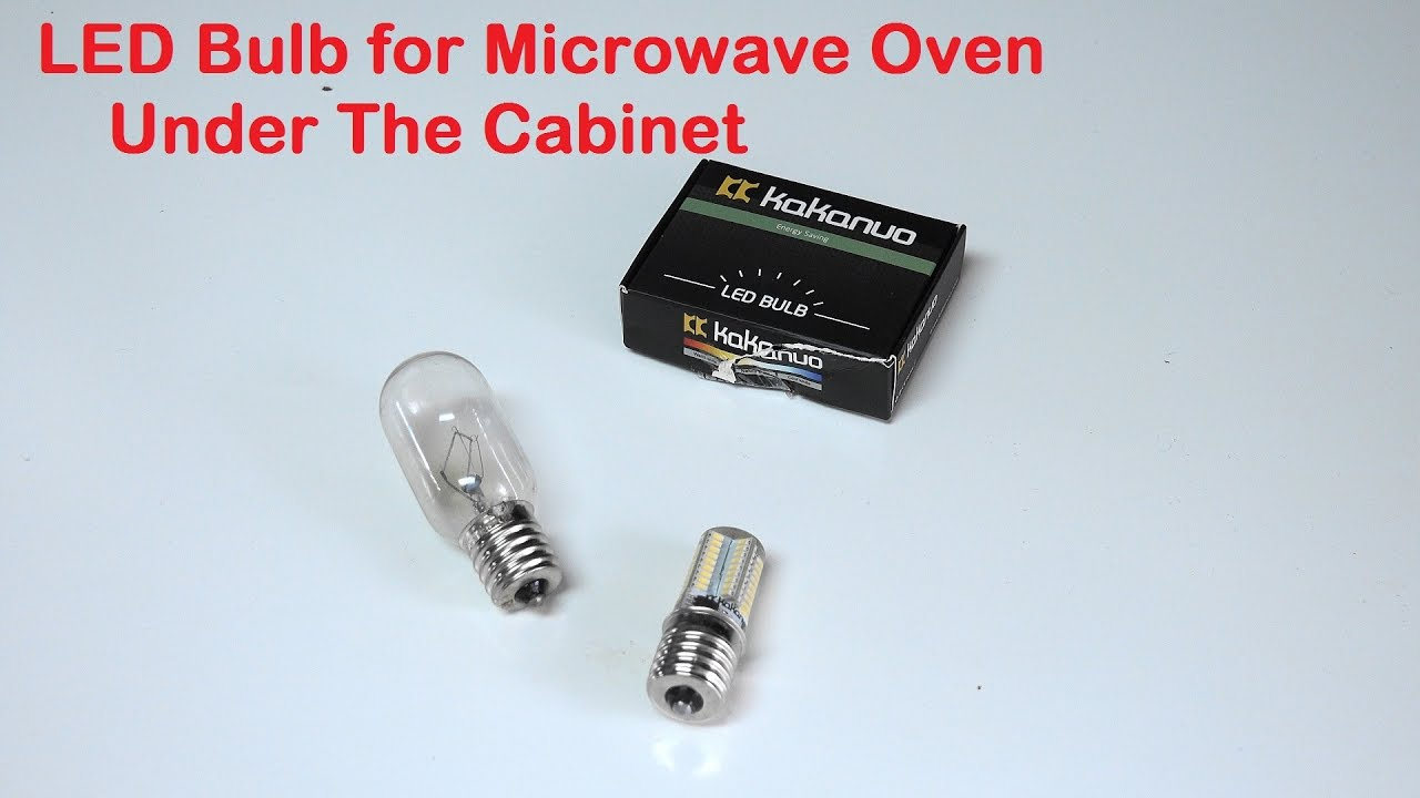 Led Bulb For Microwave Oven Under The Cabinet