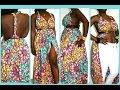 DIY MULTI WAY AFRICAN PRINT MAXI DRESS/TOP| NO ZIPPER NEEDED