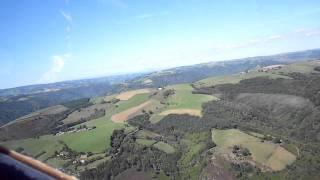 helicopter vlucht, saint parthem