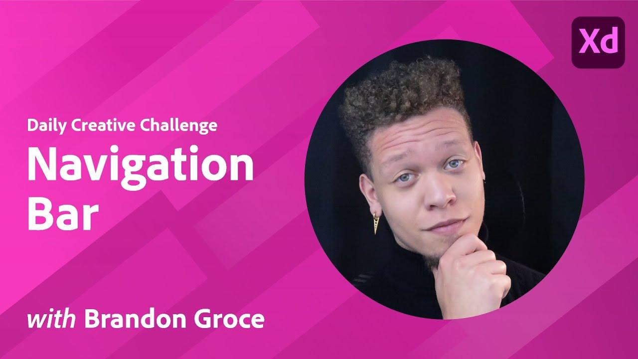 XD Daily Creative Challenge - Navigation Bar