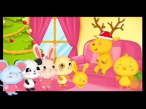 Le grand cerf version Noël- Comptines et chansons pour bébés Titounis