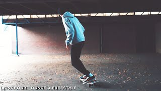 COMPLETELY NEW TRICKS | Longboard Dance x Freestyle + Unboxing