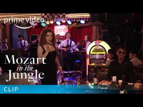 Mozart in the Jungle Season 4 - Clip: Karaoke | Prime Video