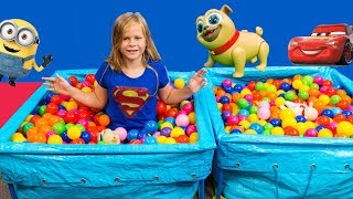 The Assistants Ball Pit Surprise with Despicable Me Minion Toys