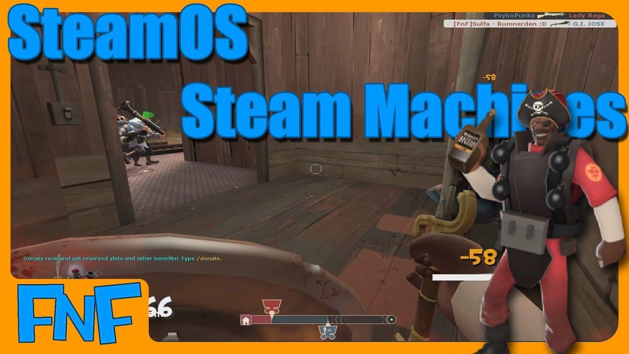 steam machine gameplay