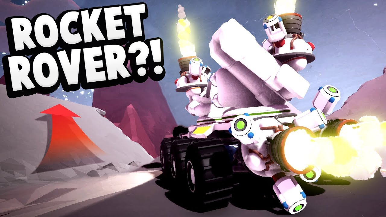 We Built Our Own Rocket Rover & Launched It Into Space! - NEW Astroneer  Sandbox Gameplay