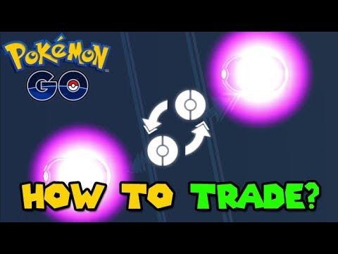 HOW TO TRADE in Pokemon GO  POKEMON GO Trading Update