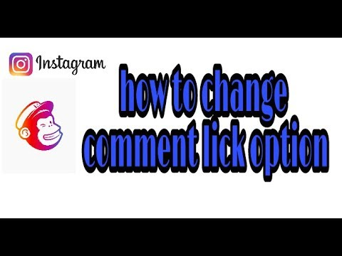 how to off comment like option on Instagram