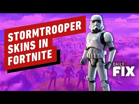 Fortnite x Star Wars: Stormtrooper Skin Now Available - IGN Daily Fix
