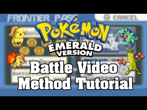 Battle Video Method | How To SR For Shiny Pokemon In Emerald