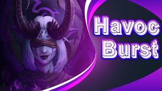 Shadowlands PvP  Havoc DH Arena Gameplay  BIG DAMAGE