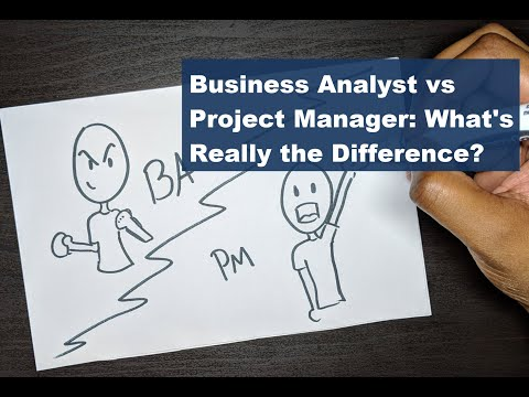 What's the Difference between a Business Analyst vs Project Manager? Quick and Simple Explanation